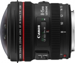 Canon EF 8-15mm f/4.0L USM Fish-eye