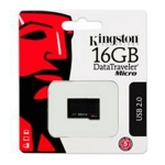 Flash USB Kingston 16GB USB 2.0 DataTraveler Micro