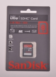 SanDisk Ultra SDHC Class 10 UHS-I 20MB/s 8Gb