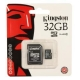 Flash Card Kingston microSDHC 32Gb + SD adapter