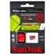 Flash Card microSD 16GB SanDisk cl.10 Ultra UHS-I 80MB/s + 1ad